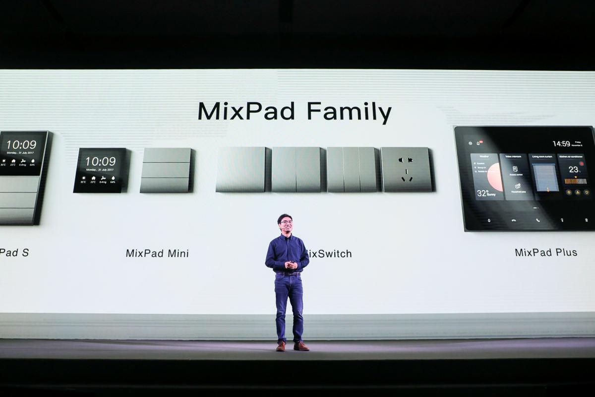 智能家居领军者欧瑞博欧发布全新MixPad系列智能面板